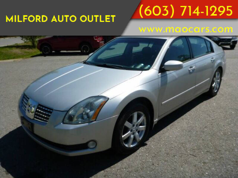 2005 Nissan Maxima for sale at Milford Auto Outlet in Milford NH