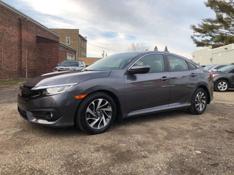 2016 Honda Civic for sale at Jim's Hometown Auto Sales LLC in Byesville OH