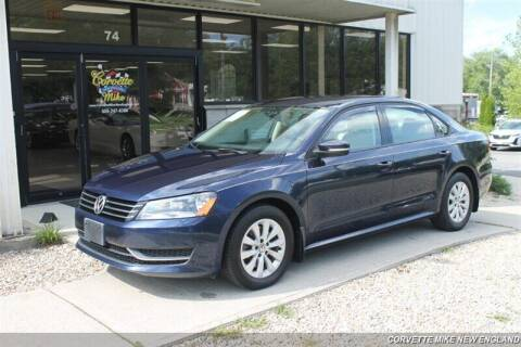 2014 Volkswagen Passat for sale at Corvette Mike New England in Carver MA