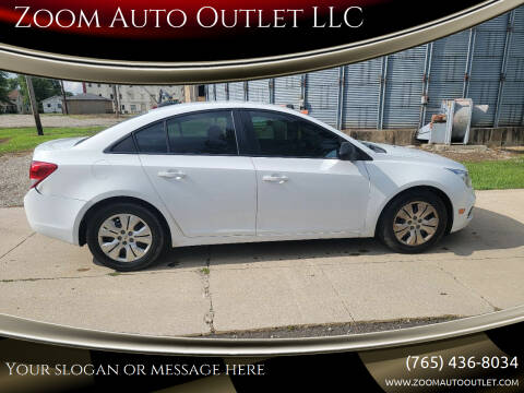 2015 Chevrolet Cruze for sale at Zoom Auto Outlet LLC in Thorntown IN