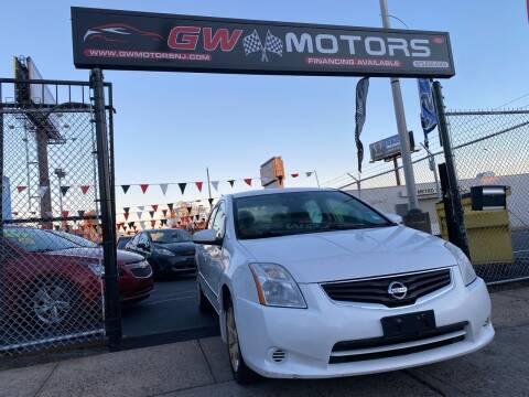 2010 Nissan Sentra for sale at GW MOTORS in Newark NJ