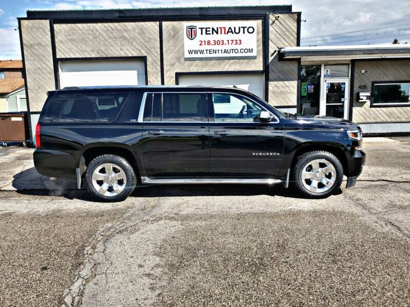 2015 Chevrolet Suburban for sale at Ten 11 Auto LLC in Dilworth MN