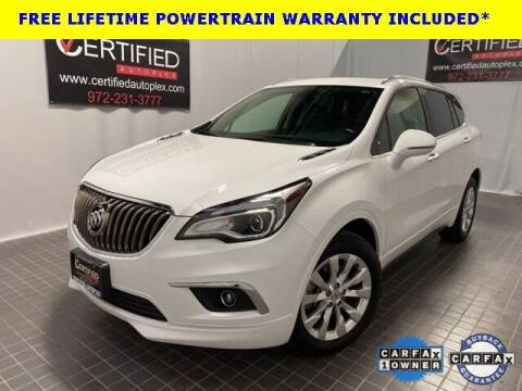2017 Buick Envision for sale at CERTIFIED AUTOPLEX INC in Dallas TX
