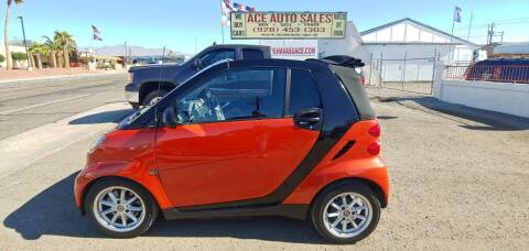 2008 Smart fortwo for sale at ACE AUTO SALES in Lake Havasu City AZ