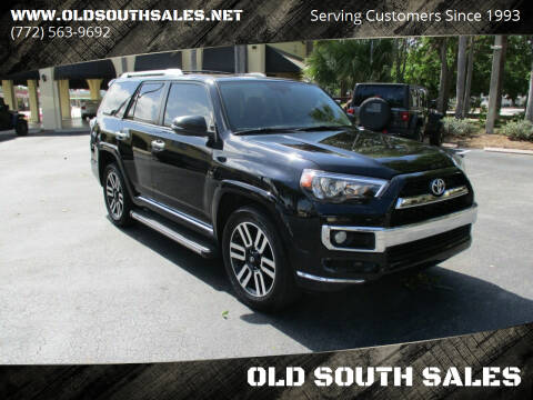 2014 Toyota 4Runner for sale at OLD SOUTH SALES in Vero Beach FL