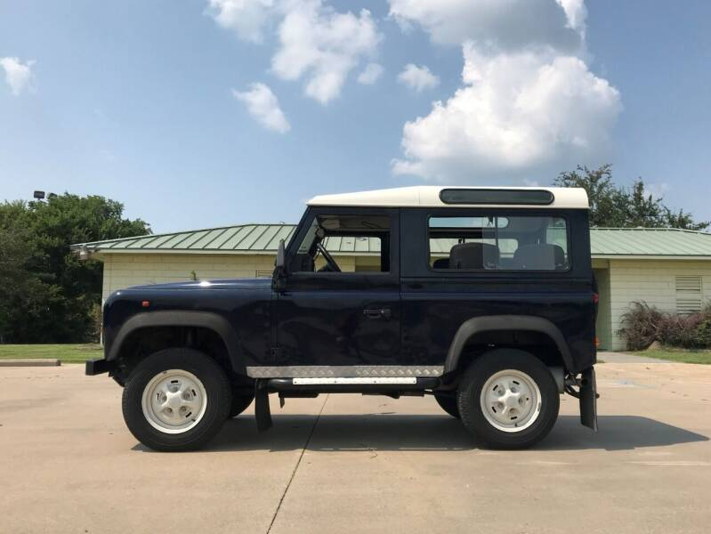 1996 Land Rover Defender for sale at Enthusiast Motorcars of Texas in Rowlett TX