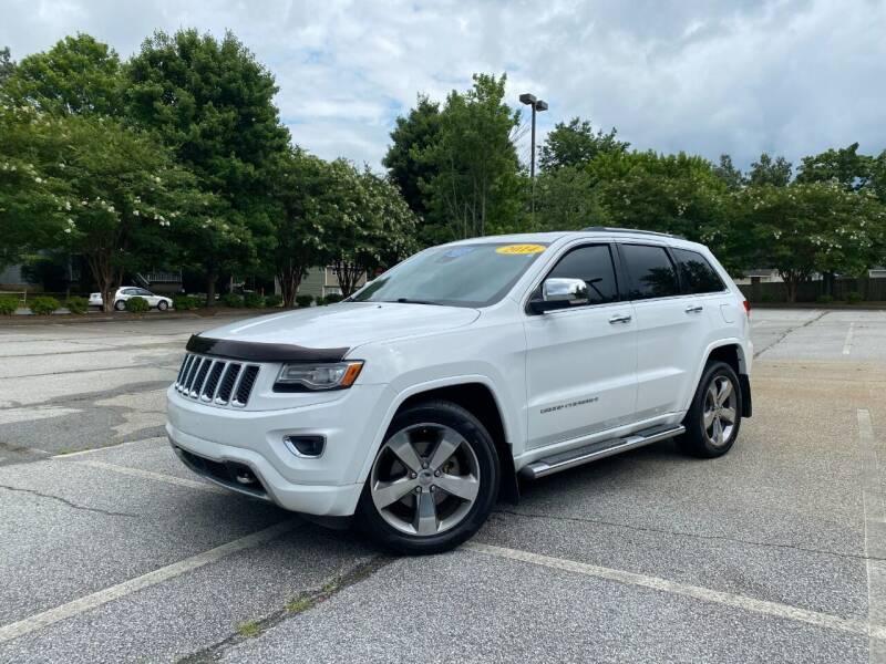 2014 Jeep Grand Cherokee for sale at Uniworld Auto Sales LLC. in Greensboro NC