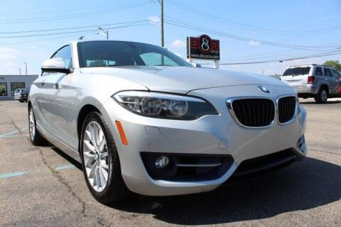 2016 BMW 2 Series for sale at B & B Car Co Inc. in Clinton Township MI