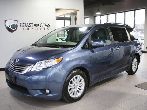 2016 Toyota Sienna for sale at Coast to Coast Imports in Fishers IN
