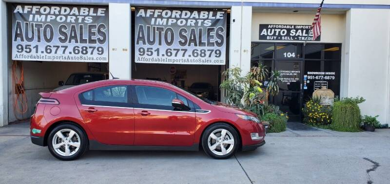 2013 Chevrolet Volt for sale at Affordable Imports Auto Sales in Murrieta CA