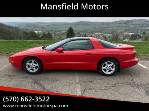 1997 Pontiac Firebird for sale at Mansfield Motors in Mansfield PA