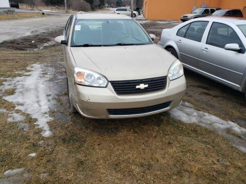 2007 Chevrolet Malibu for sale at Fansy Cars in Mount Morris MI