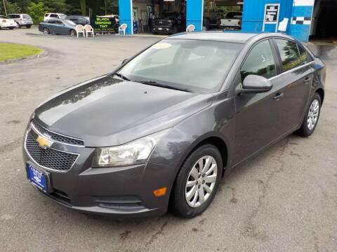 2011 Chevrolet Cruze for sale at RTE 123 Village Auto Sales Inc. in Attleboro MA