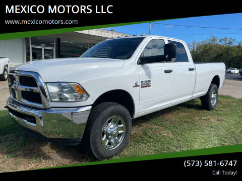 2018 RAM Ram Pickup 2500 for sale at MEXICO MOTORS LLC in Mexico MO