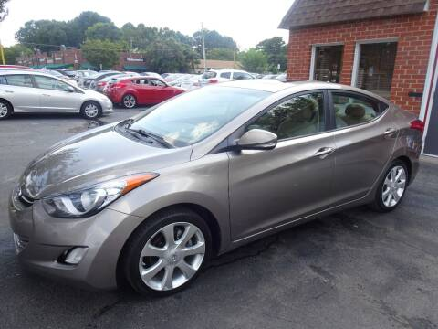 2011 Hyundai Elantra for sale at AP Automotive in Cary NC