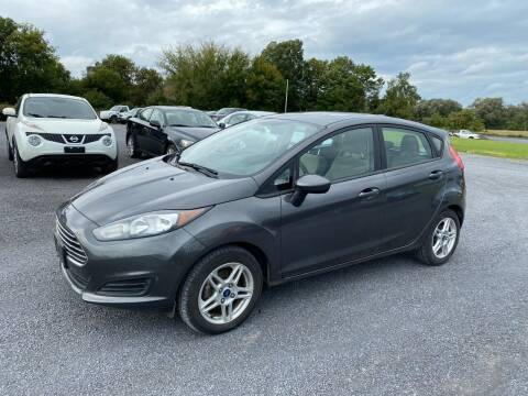 2018 Ford Fiesta for sale at Riverside Motors in Glenfield NY