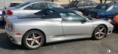 2003 Ferrari 360 Spider for sale at Classic Car Deals in Cadillac MI