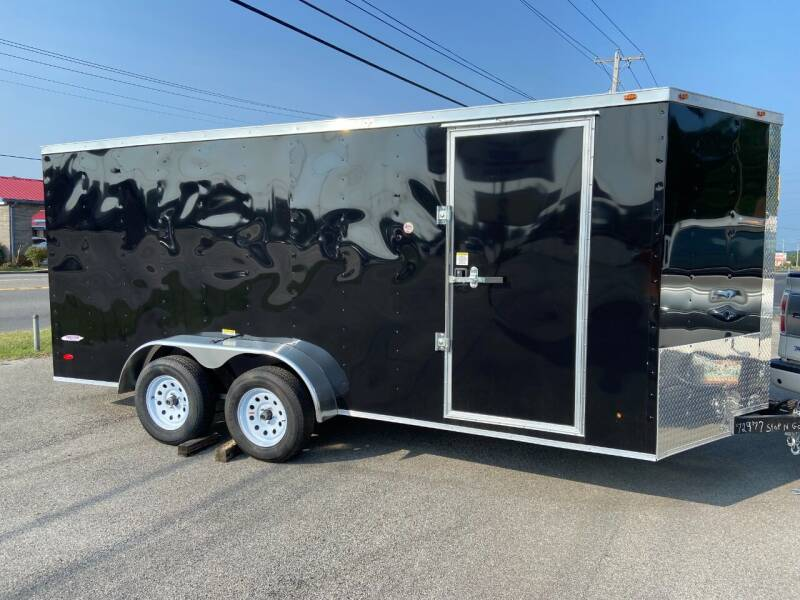 2022 Freedom 6x12 Tandem Axle Enclosed for sale at STOP N GO MOTORS - Enclosed Trailers in Maryville TN