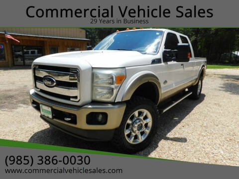 2011 Ford F-350 Super Duty for sale at Commercial Vehicle Sales in Ponchatoula LA