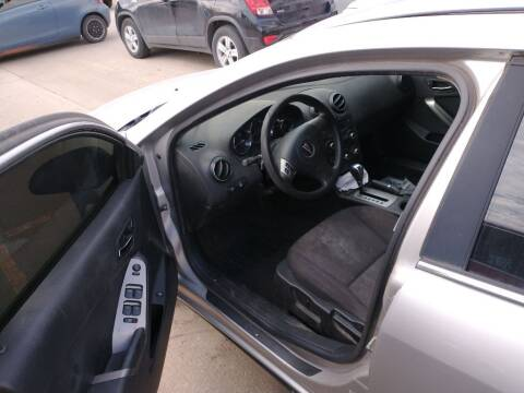 2006 Pontiac G6 for sale at A BOTTOM DOLLAR AUTO SALES in Shawnee OK