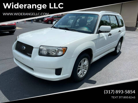2008 Subaru Forester for sale at Widerange LLC in Greenwood IN