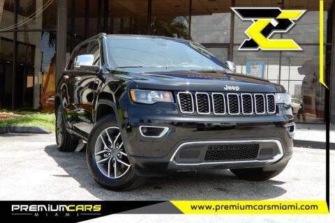 2020 Jeep Grand Cherokee for sale at Premium Cars of Miami in Miami FL