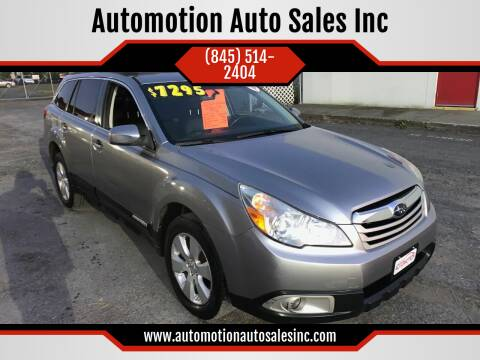 2010 Subaru Outback for sale at Automotion Auto Sales Inc in Kingston NY