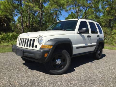 2006 Jeep Liberty for sale at VICTORY LANE AUTO SALES in Port Richey FL