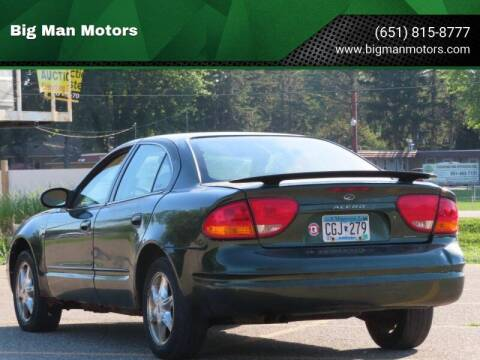 2000 Oldsmobile Alero for sale at Big Man Motors in Farmington MN
