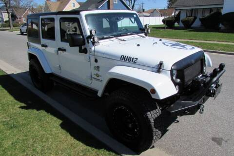 2015 Jeep Wrangler Unlimited for sale at First Choice Automobile in Uniondale NY