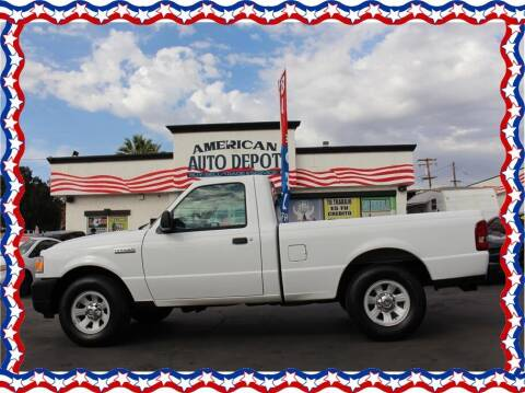 2011 Ford Ranger for sale at American Auto Depot in Modesto CA