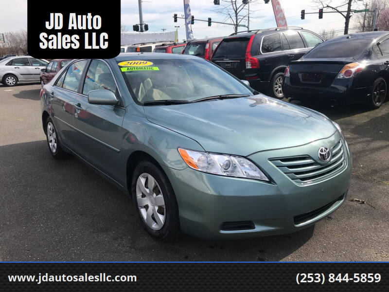 2009 Toyota Camry for sale at JD Auto Sales LLC in Fife WA