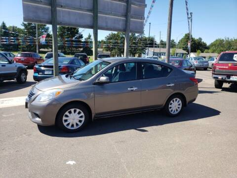 2013 Nissan Versa for sale at Rum River Auto Sales in Cambridge MN