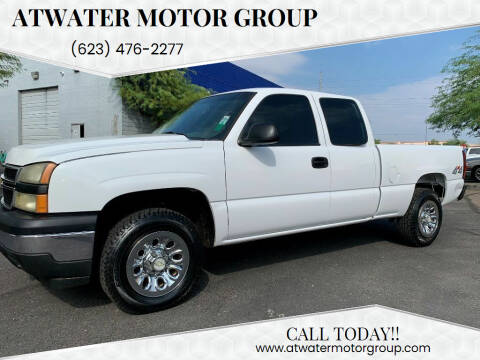 2006 Chevrolet Silverado 1500 for sale at Atwater Motor Group in Phoenix AZ
