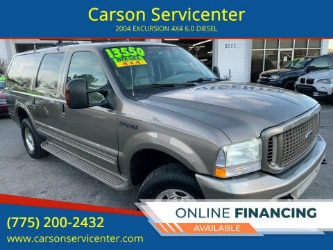 2004 Ford Excursion for sale at Carson Servicenter in Carson City NV