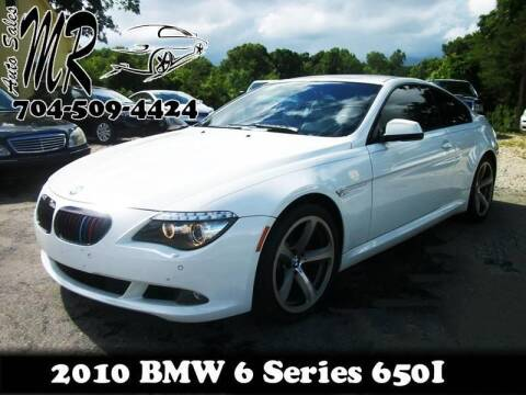2010 BMW 6 Series for sale at Mr Auto Sales in Charlotte NC