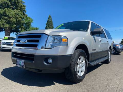 2007 Ford Expedition EL for sale at Pacific Auto LLC in Woodburn OR
