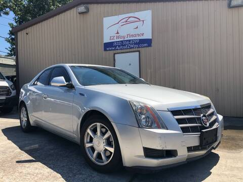 2009 Cadillac CTS for sale at Autos EZ Way in Houston TX