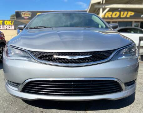 2015 Chrysler 200 for sale at Global Auto Group in Fontana CA