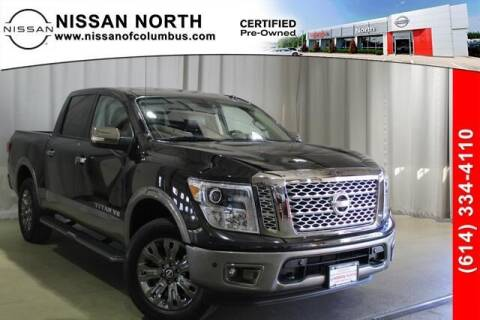 2019 Nissan Titan for sale at Auto Center of Columbus in Columbus OH