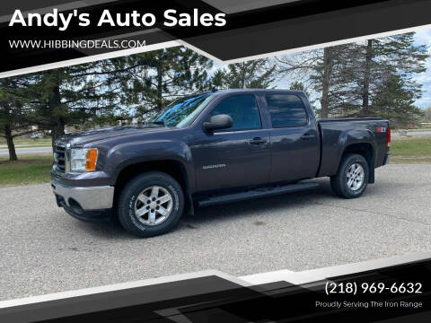 2010 GMC Sierra 1500 for sale at Andy's Auto Sales in Hibbing MN