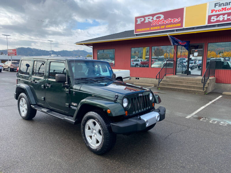 2011 Jeep Wrangler Unlimited for sale at Pro Motors in Roseburg OR