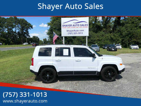 2017 Jeep Patriot for sale at Shayer Auto Sales in Cape Charles VA