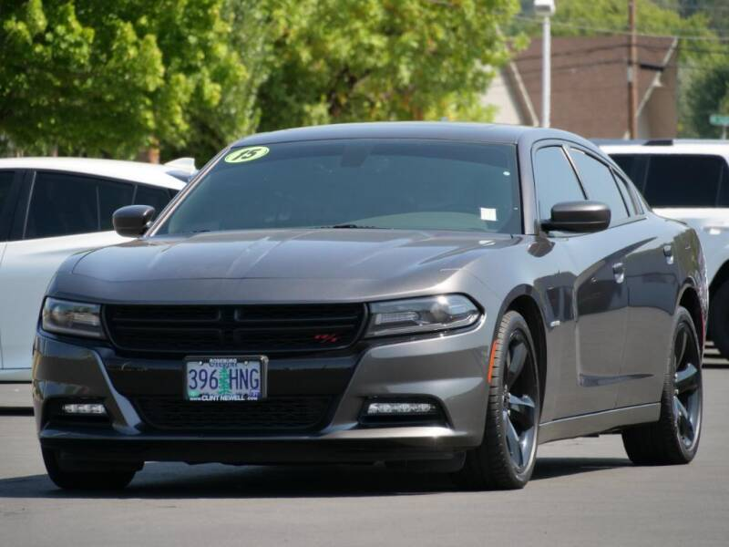 2015 Dodge Charger for sale at CLINT NEWELL USED CARS in Roseburg OR