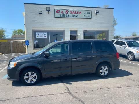 2012 Dodge Grand Caravan for sale at C & S SALES in Belton MO