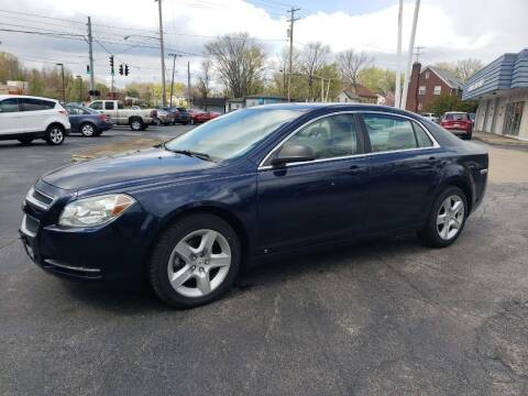 2009 Chevrolet Malibu for sale at COLONIAL AUTO SALES in North Lima OH