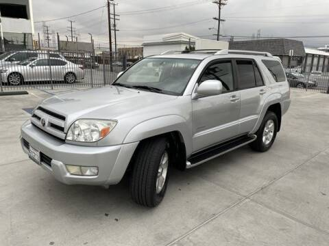 2003 Toyota 4Runner for sale at Hunter's Auto Inc in North Hollywood CA