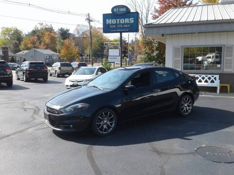 2013 Dodge Dart for sale at Route 106 Motors in East Bridgewater MA