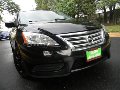 2015 Nissan Sentra for sale at Dasto Auto Sales in Manassas VA