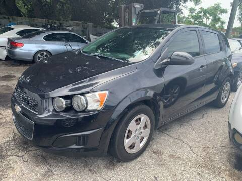 2014 Chevrolet Sonic for sale at P J Auto Trading Inc in Orlando FL